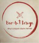 FESTÉK NÉLKÜLI otthoni szett online festéshez BUDDHA kávéval festve, aranyfóliával, kerek vászonra