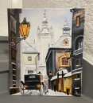 FESTÉK NÉLKÜLI otthoni szett online festéshez YURIY SHEVCHUK festményéhez