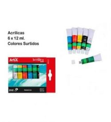 Artix Akrilfesték készlet 6x12 ml