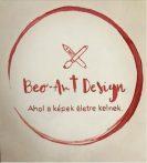 ECSET NÉLKÜLI otthoni szett online festéshez BUDDHA kávéval festve, aranyfóliával, kerek vászonra