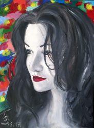 Női portré (olajfestmény)