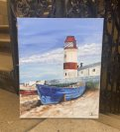 VIDEÓ online festéshez WILMA KLEINHANS festményéhez